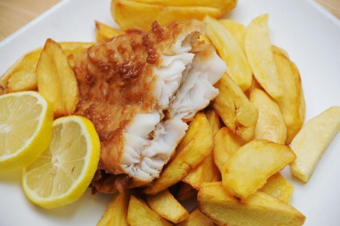 ... | Recipe : How To Make English Fish And Chips (with beer batter
