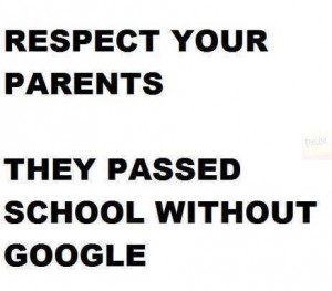 respect parents no internet