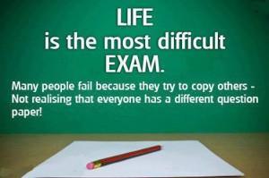 life exam