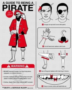 becoming a pirate