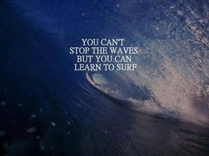 can't stop the waves-learn to surf