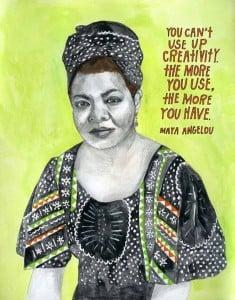 creativity-Angelou