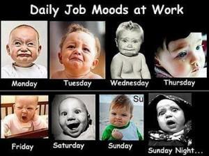 daily job moods