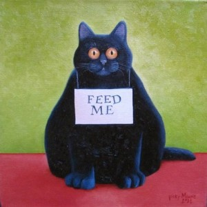 fat cat feed me