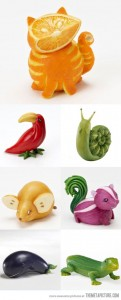 food-art-animals