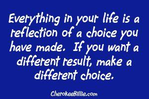 life - choices