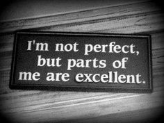 parts of me are excellent
