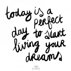 perfect day live dreams