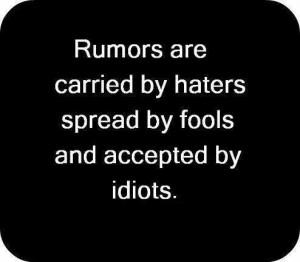 rumours'