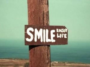 smile - enjoy life