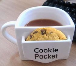 tea cup - biscuit holder