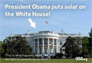 white house solar power