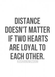 distance hearts
