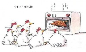horror movie chicken