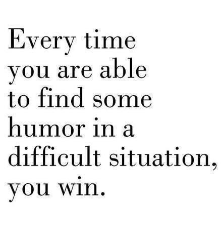 humour win