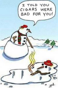snowmen cigar