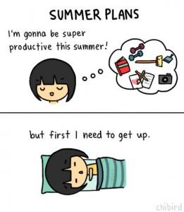 summer productive
