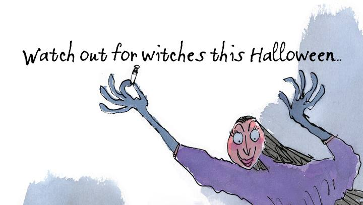 watch out witches Halloween