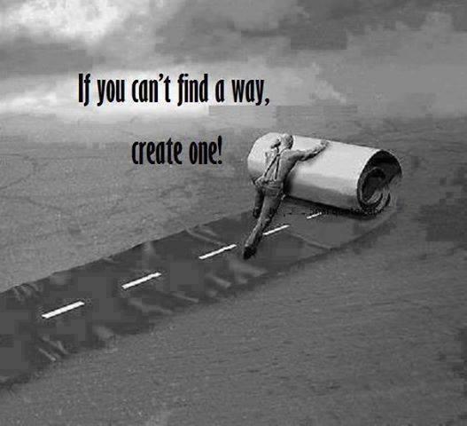 create a way