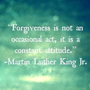forgiveness - MLK