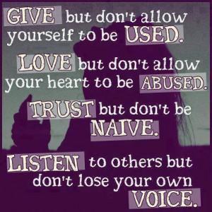 give-love-trust-listen