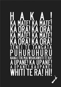 haka words