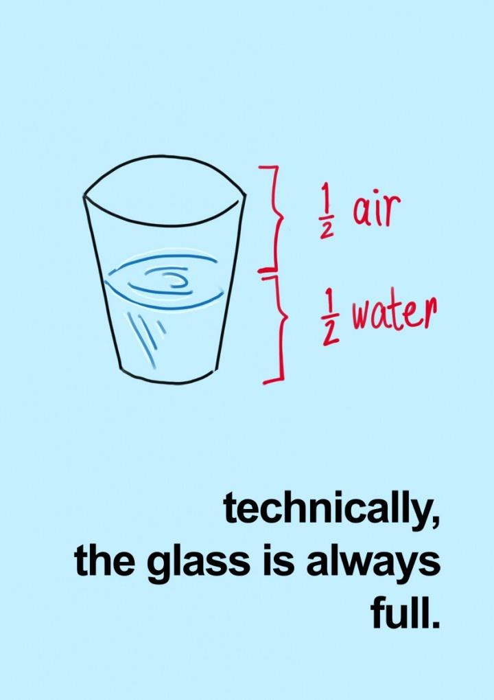 half air half water