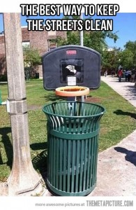 keep streets clean