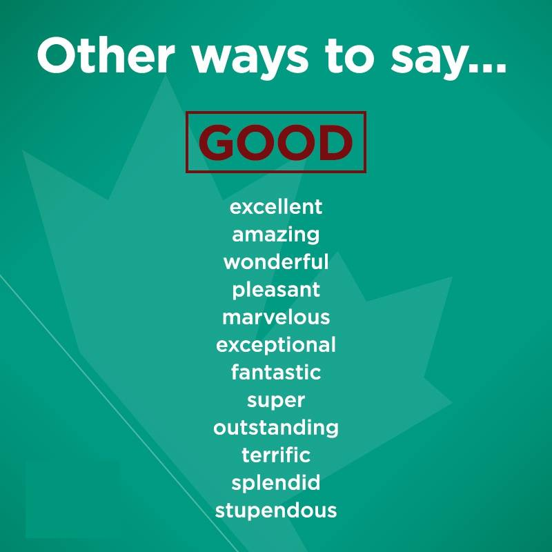 synonyms-Good