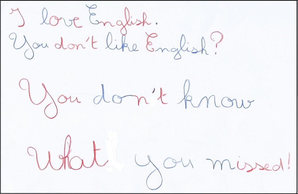 Mohamed-I love English