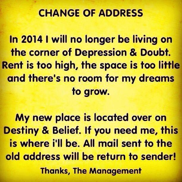 2014 resolution address