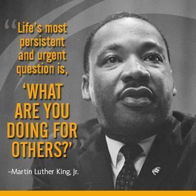 MLK question