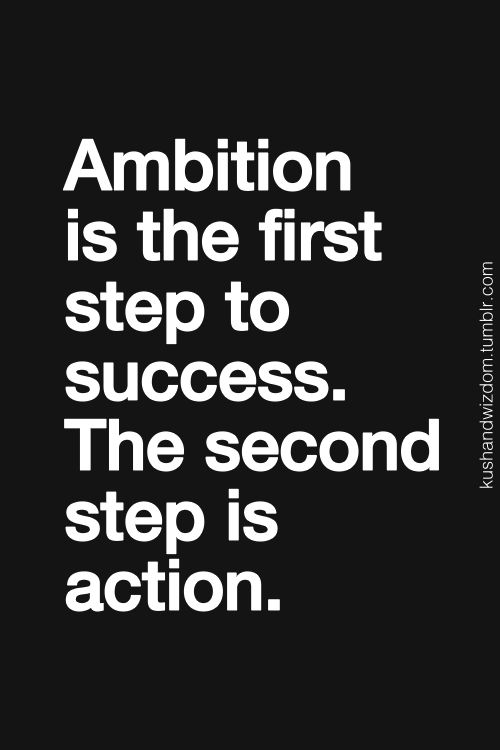 ambition-action