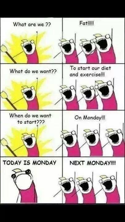 dieting-Monday