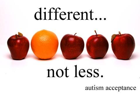different not less autism