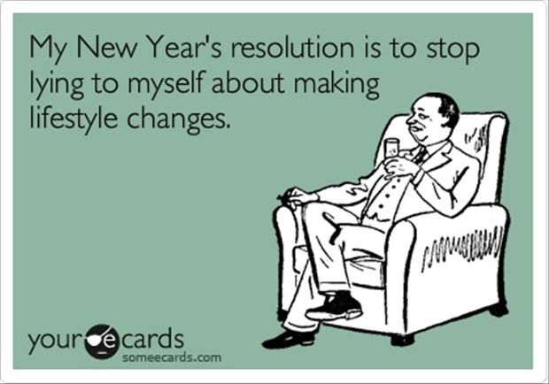 new year resolution stop lying