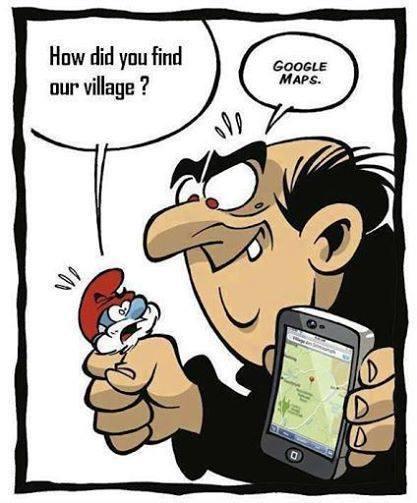 smurfs-googlemaps