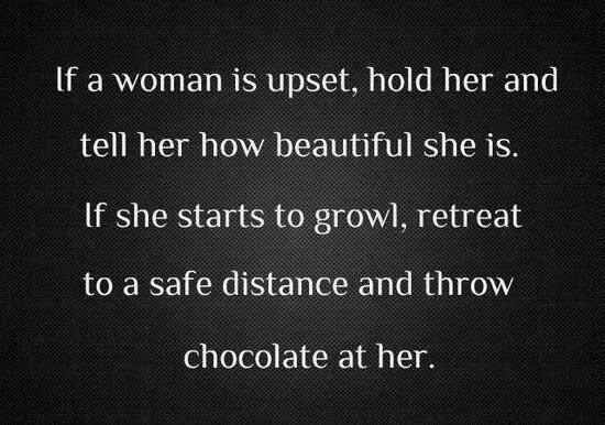 upset woman-hug-chocolate