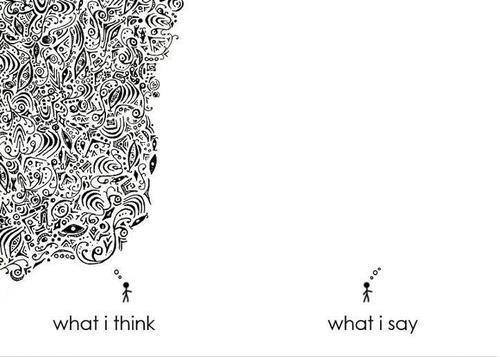 what I think - say