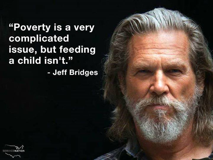 Poverty-feeding child