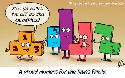 Tetris-Olympics
