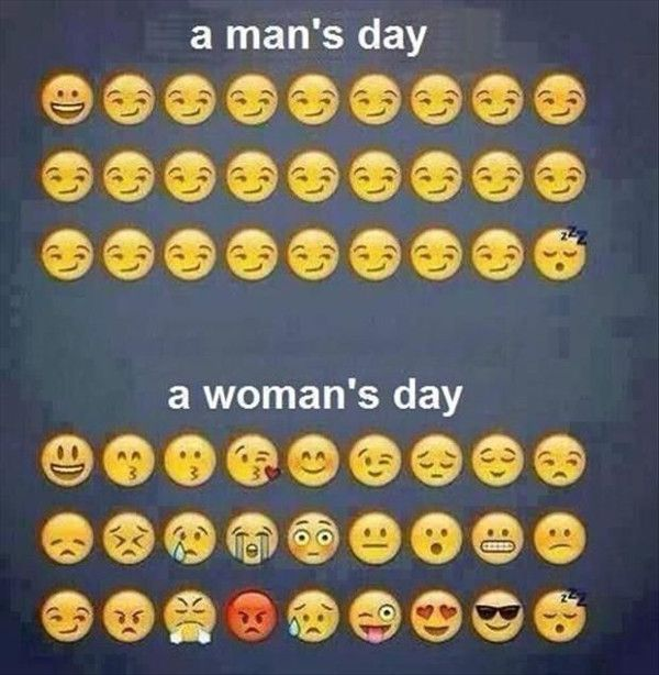 man-woman emotions