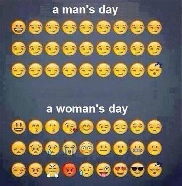 man-woman emotions