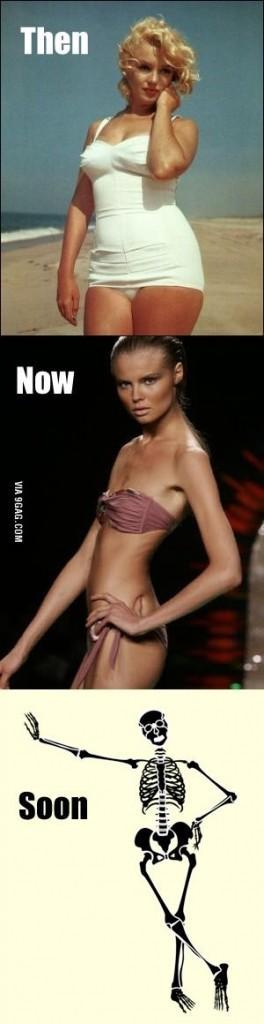 skinny models