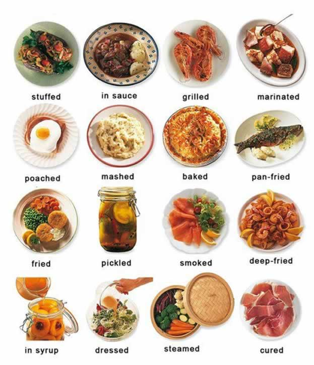 types-of-cooked-food