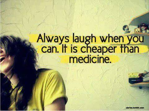laugh cheaper medecine