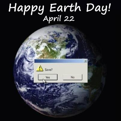 Earth day save