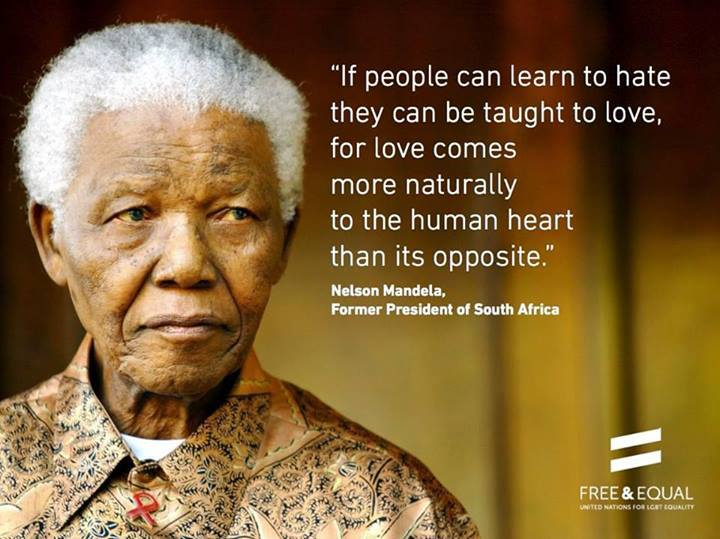 Mandela learn love