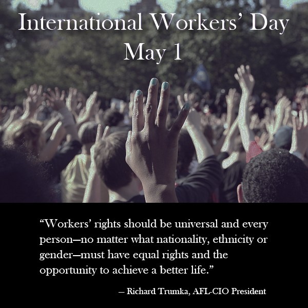 May 1st workers day