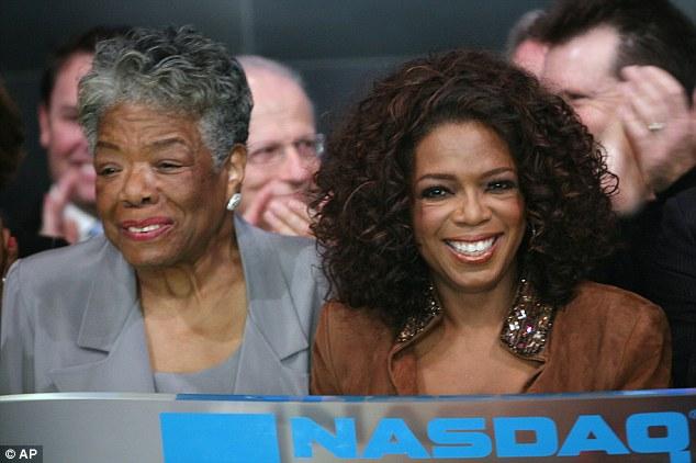 Maya Angelou-Oprah